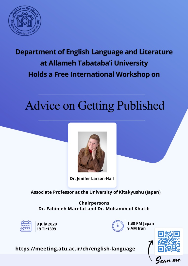 Free online workshop in Advice on Getting Published